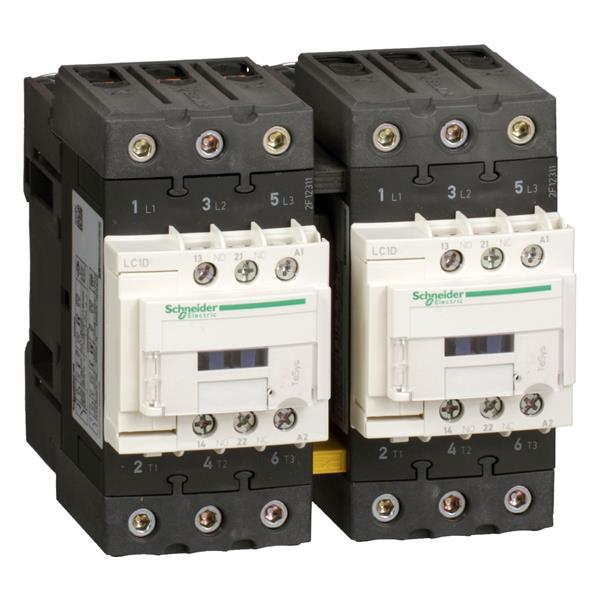 TELEMECANIQUE - Contacteur inverseur EVERLINK 3P AC3 440V 40A avec bobine 230V AC