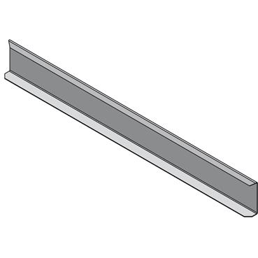 STAGOBEL - Cloison de séparation Tôle d'acier galvanisée Sendzimir
