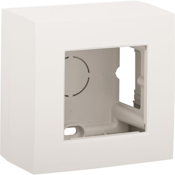 NIKO - Boîte en saillie 1x G06 haut, blanc