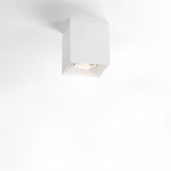 DELTA LIGHT - Boxy Opbouwspot 50W QPAR51 GU10 100-240V IP20 wit