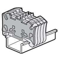 LEGRAND - Cloison terminale bloc ressort 2E/2S pas 5 mm - Viking 3