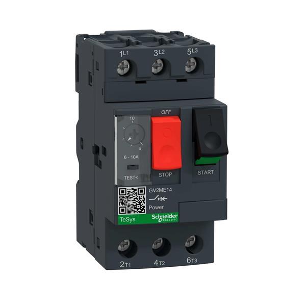 TELEMECANIQUE - disjoncteur moteur GV2-ME - 6..10 A - 3P 3d - déclencheur magnéto-thermique