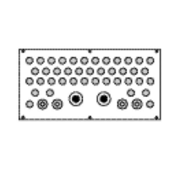 VYNCKIER - Invoerplaat PG29-21-16 B590-1090 VPS IP54