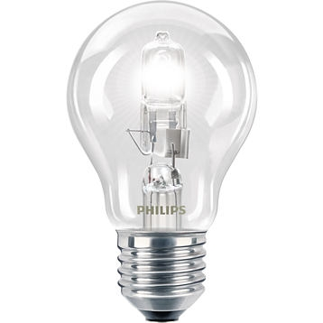 PHILIPS - Halogeen Eco Classic 42W 630lm E27 230V A55 CLEAR