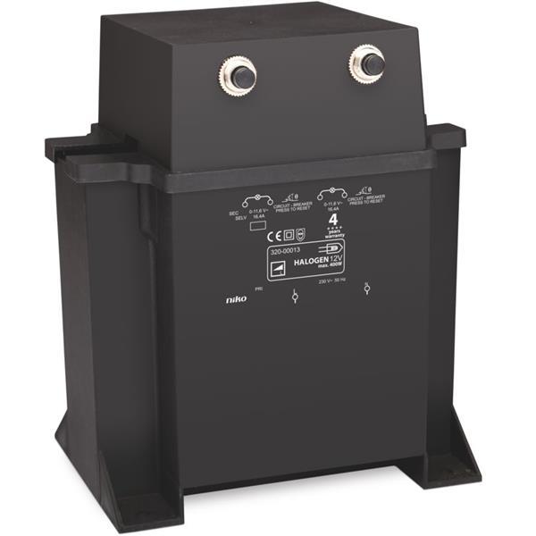 NIKO - Kortsluitvaste elektromagnetische transfo 400W
