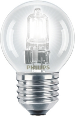 PHILIPS - Halogen 18W E27 230V P45 1CT/15 SRP