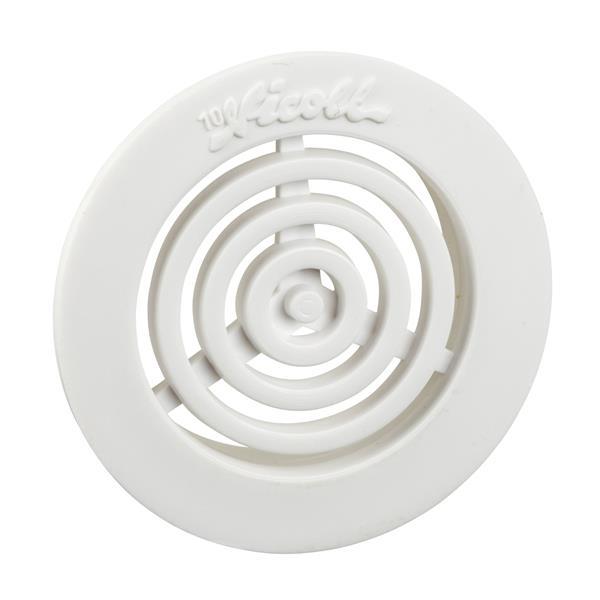 SAREL - ouïes aération plastique découpe d35mm