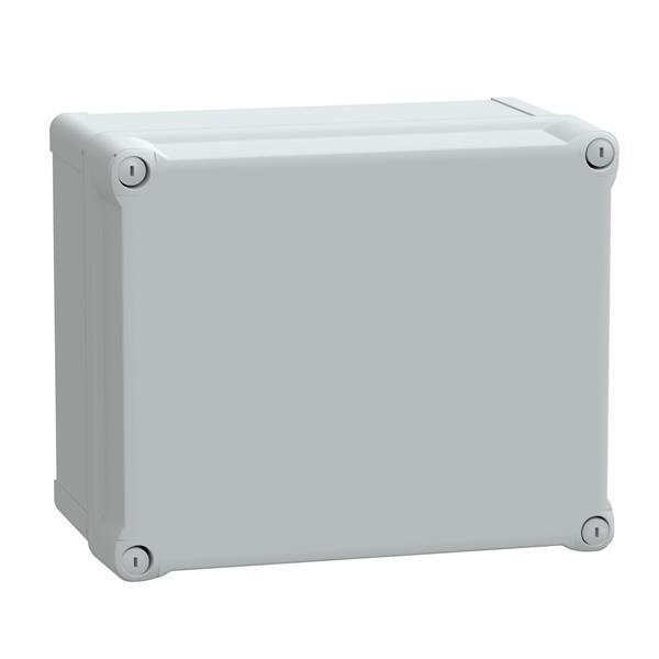 SAREL - ABS kast IP66 IK07 RAL7035 Int.H275B225D160 Ext.H291B241D168 ond. deksel H60