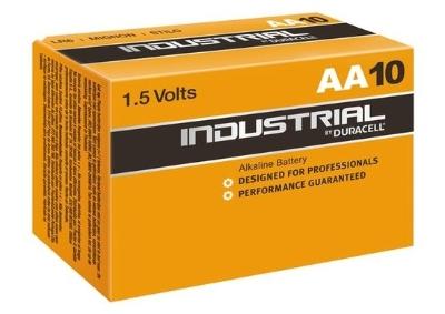 DURACELL - Batterij Alkaline Industrial - AA - 1,5V - LR6 - doos 10 stuks
