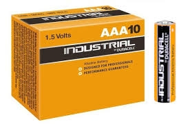 DURACELL - Pile alcaline Industrial - AAA - 1,5V - LR03 - boîte 10 pcs.