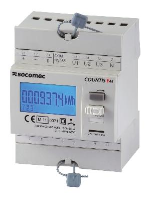 SOCOMEC - 3F energieteller Countis E40 aansluiting via stroomtransfo's