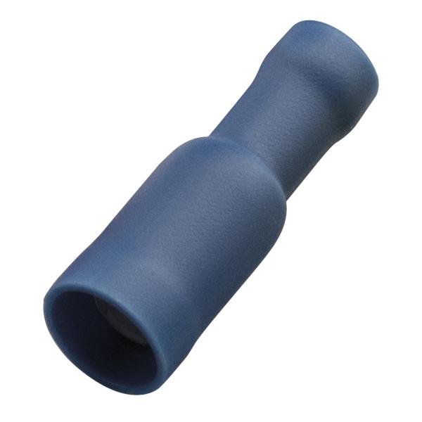 Haupa - Rondstekerhuls blauw volledig geïsoleerd PVC 1,5-2,5mm² stekker 5mm