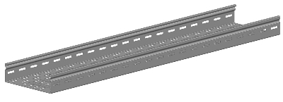 Vangeel Systems - Gaine à câble P31 L3m L100 H60 Sendzimir