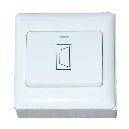 CDVI - Bouton poussoir NO/NF plastique grand icone clé