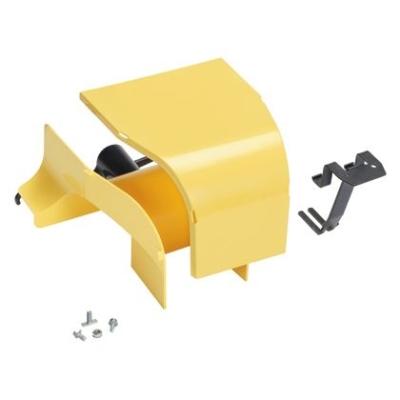 PANDUIT - Fitting, Vertical Tee With Hinged Door, 2'' x 2'' (50mm x 50mm) FiberRunner, YL