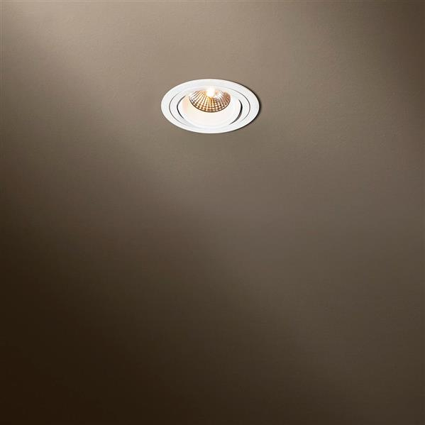 TAL LIGHTING - Solid round moby QPAR16 blanc