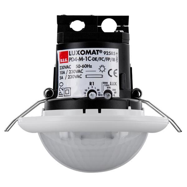 Luxomat - DÚtecteur de prÚsence PD4-mÔitre, portÚe Ï 24m, faux plafond