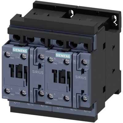 SIEMENS - REVERSING COMB., AC3, 7.5KW/ 400V AC 230V, 50/60 HZ, 3-POLE, SZ S0 SCREW TERMINA