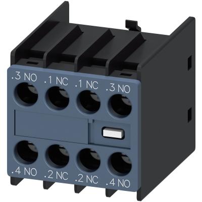SIEMENS - AUX. SWITCH BLOCK , 2NO+2NC COND. PATHS: 1NO, 1NC, 1NC, 1NO, F. CONT. RELAYS A.