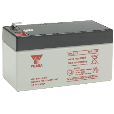 RAS - NP batterij 12v 1.2ah