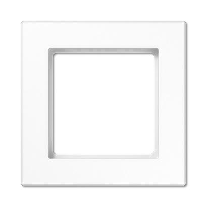 Jung - Plaque 1 poste A-creation blanc alpin
