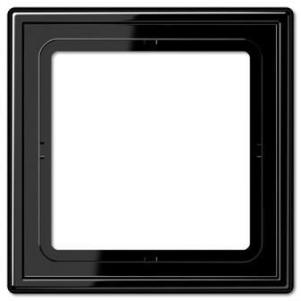 Jung - Plaque 1 poste LS990 noir