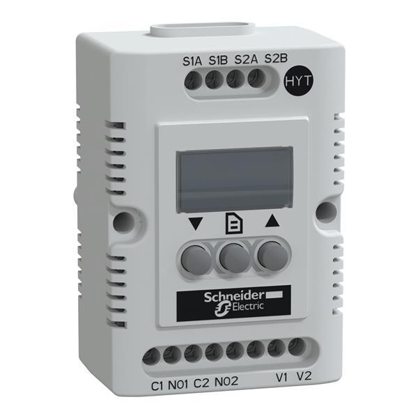 SAREL - Climasys Elektronische thermostaat en hygrostaat Hygrotherm 9-30V