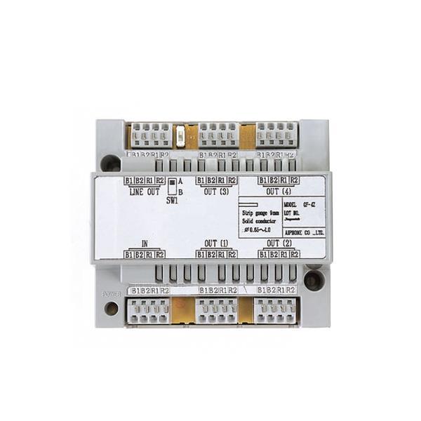 CCI - Répartiteur video 4-canaux pour cablage en etoile