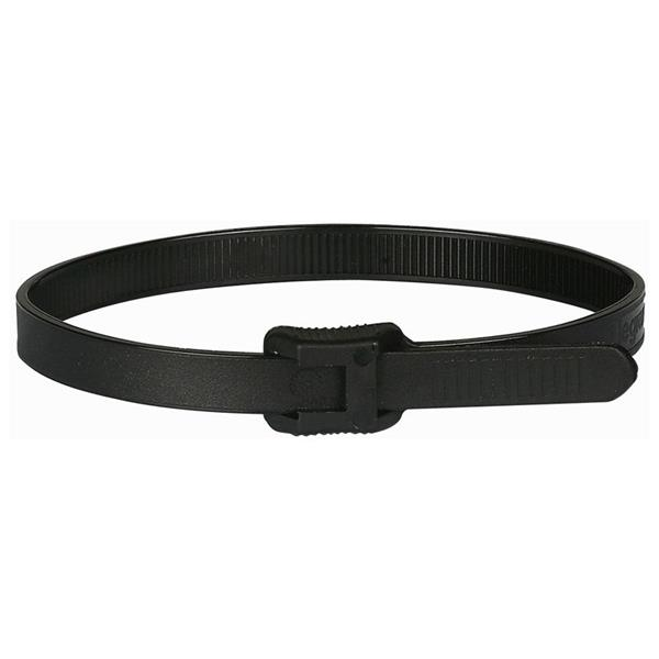 LEGRAND - Collier Col 6 - long. 260 mm larg. 7,6mm-polyamide 6/6 noir