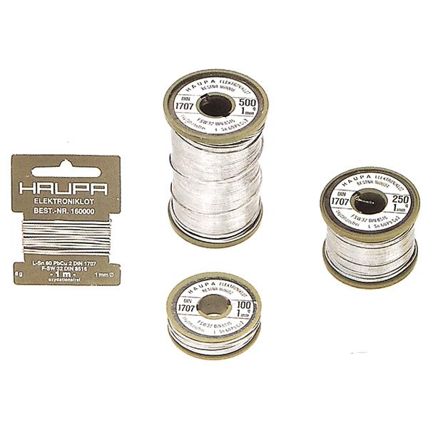 Haupa - Soudure Sn 60% 1,5mm 500g