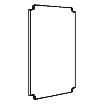 VYNCKIER - Montageplaat pertinax EH3/AP-1