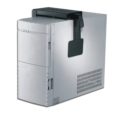 NewStar - CPU PC bureausteun - B 8-22cm / H 30-53cm - vast model - zwart