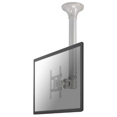 NewStar - Support de plafond écran plat - H64-104cm - 10-40inch - 20kg - argent
