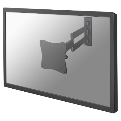NewStar - Support Mural  Ecran Plat - 10-24  - 10 kg - VESA 75&100 - 3 x pivot/tilt
