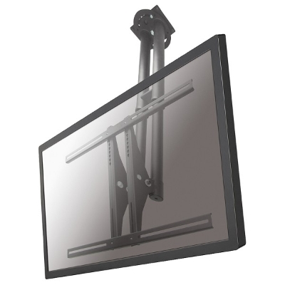 NewStar - Support de plafond écran plat - H67-107cm - 37-75inch - 50kg - argent