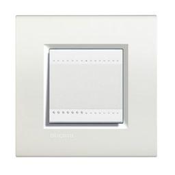 BTICINO - LivingLight - Rechthoekige afdekplaat 2 modules wit