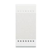 BTICINO - LivingLight - Touche éclairage 1 fonction 1 module blanc