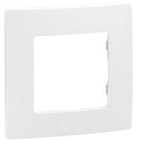 LEGRAND - Niloé plaque 1 poste blanc