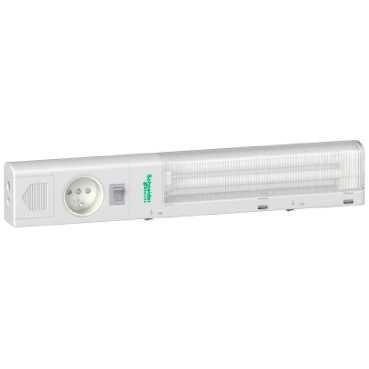 SAREL - Lampe compacte fluorescente, 11 W, 220 V, 50/60 Hz, prise UTE, standard français