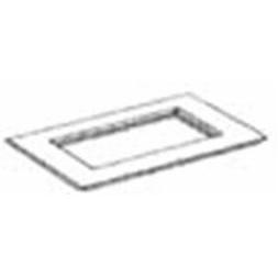 REHAU - SIGNO PROFILA Afdekraam Module 45 3-voudig RAL9010