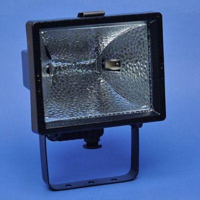 PIL - Projecteur hermétique halogène 500W noir