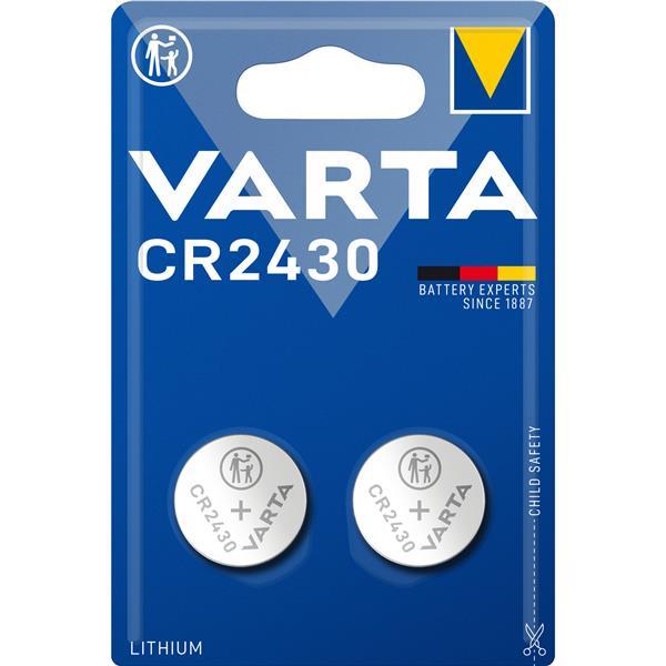 VARTA - Knoopcel CR2430 lithium blister/2