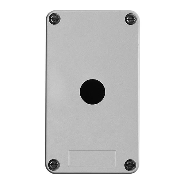 TELEMECANIQUE - boîte à boutons vide - XAP-A - plastique - 1 perçage