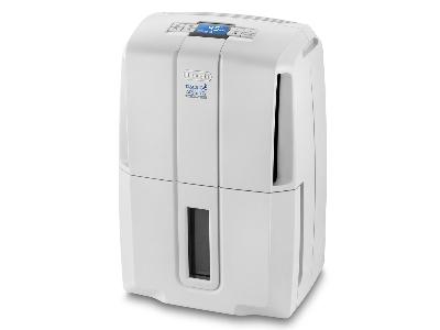 DE LONGHI - Déshumidificateur avec compresseur - 300W+1000W - 30l/24u - 110m³ - électronique