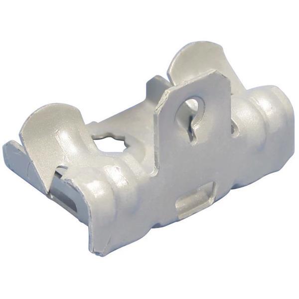 ERICO - Flens clip, bodem montage, Verenstaal, 8-14 mm (5/16''-1/2'') Flens