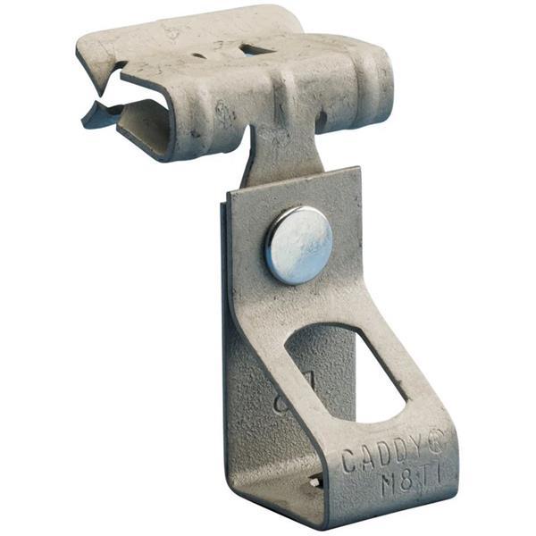 ERICO - Attache de tige à bride H-Ti/T, M8 Trou, Taraudé, 8 14 mm (0,31'' 0,55'') Rebord