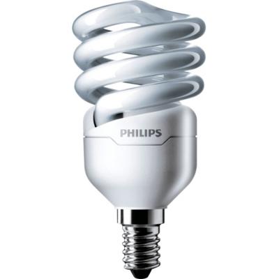 PHILIPS - Tornado spiral T2 230V 12W 2700K E14 230V 741lm CRI82 non dimmable 10000h