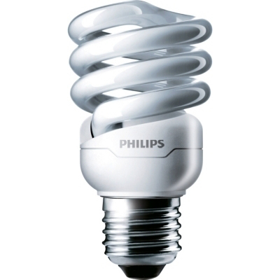 PHILIPS - Tornado spiral T2 12W 2700K E27 230V 741lm CRI82 niet dimbaar 10000u