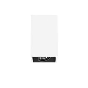 FLOS - COMPASS BOX SMALL Surface for QR-CBC 51 lamp. Max.1x35W.10º 60º blanc