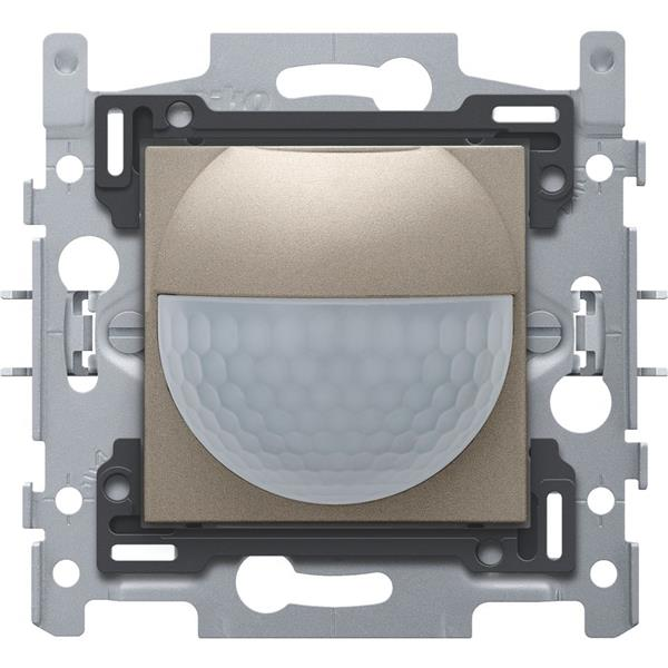 NIKO - Détecteur mouvement 180° enc. (senseur+socle) avec contact 10A, bronze